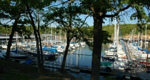One of so, so many marinas in North Texas. Photo KL