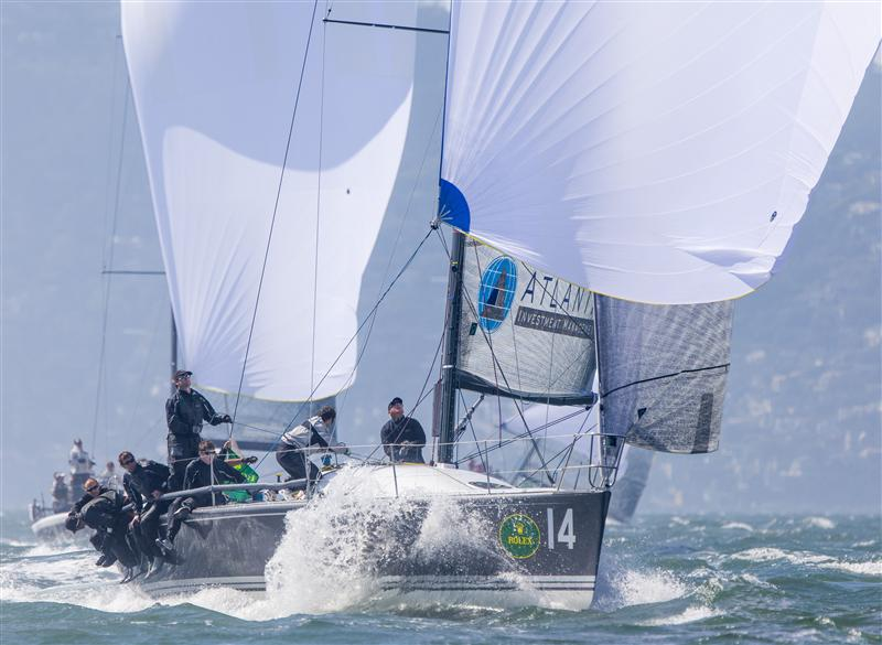 The Farr 40 division. Farr 40s race their World Champiionship on SF Bay October 15-19