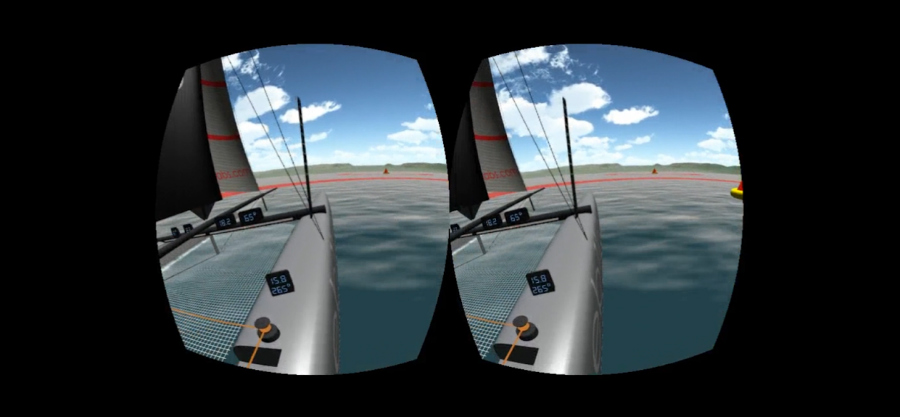 Oculus VR View Sample